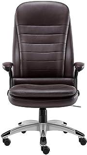 BKWJ Chaise d'ordinateur de Bureau Chaise d'ordinateur Chaise Ergonomique, Chaise de Boss Chaise pivotante Chaise Chaise C...