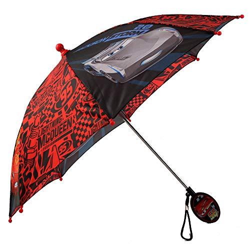 Disney Little Boys Assorted Characters Rainwear Umbrella, Ages 3-7, Black