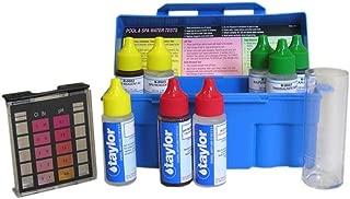 Taylor Swimming Pool & Spa Water 4-in-1 Chlorine Bromine pH Test Kit