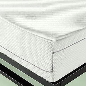 Zinus 10 inch Charcoal Memory Foam Mattress, Queen
