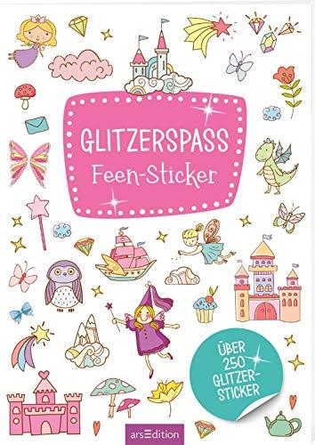 Glitzerspaß Feen-Sticker