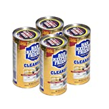 Bar Keepers Friend Powder Cleanser (12 oz) - Multipurpose Cleaner & Stain Remover - Bathroom, Kitchen & Outdoor Use - for Stainless Steel, Aluminum, Brass, Ceramic, Porcelain, Bronze and More (4)