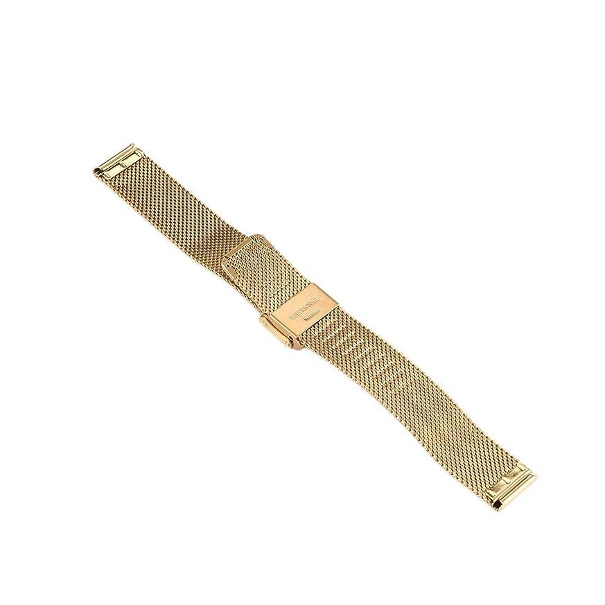 忌まわしいパズルアンビエントSwiftgood 16mmの贅沢な網の腕時計バンド、人および女性のためのステンレス鋼のMilaneseの時計バンドの取り替え
