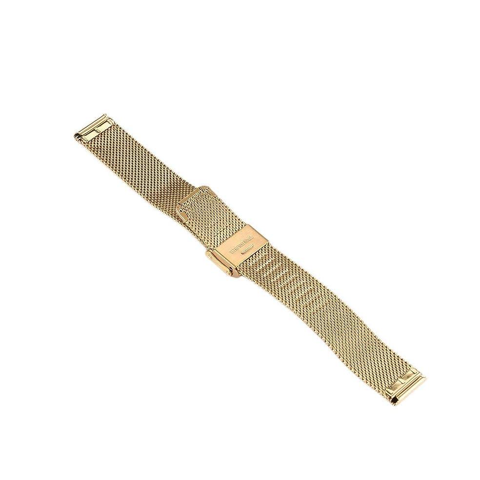 反対著作権船外Swiftgood 16mmの贅沢な網の腕時計バンド、人および女性のためのステンレス鋼のMilaneseの時計バンドの取り替え