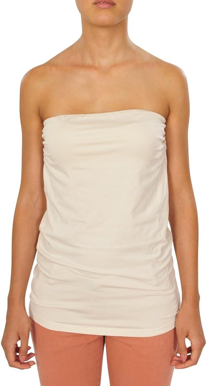 Brunello Cucinelli Top Women's OffWhite Slim Fit Cotton Casual XL IT