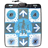 OSTENT Non-slip Dance Pad Dancing Mat for Nintendo Wii Gamecube NGC Console Dance Revolution DDR Video Games