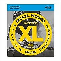 D'Addario EXL125 エレキギター弦×5セット