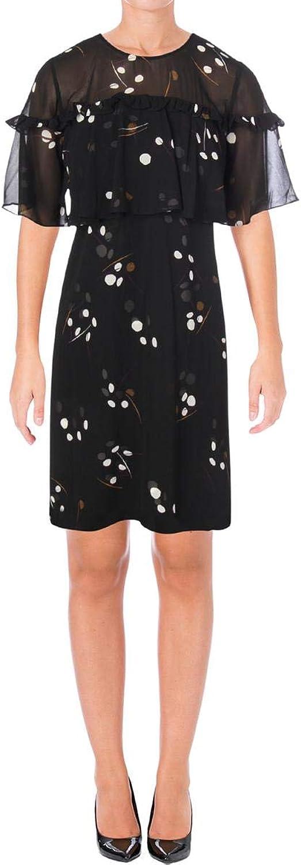 Alfani Womens Ruffle ALine Dress