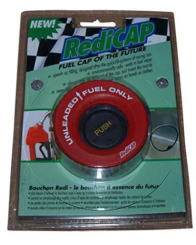 Preisvergleich Produktbild RediCAP Benzin Rot Tankdeckel Tanken wie in der DTM Formel 1 Bajonettverschluss