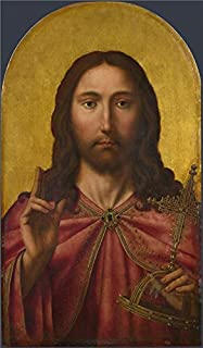 Oil Painting 'After Quinten Massys - Christ,probably About 1500-50' Printing On High Quality Polyster Canvas , 20x34 Inch / 51x87 Cm ,the Best Gift For Girl Friend And Boy Friend And Home Artwork And Gifts Is This Best Price Art Decorative Canvas Prints