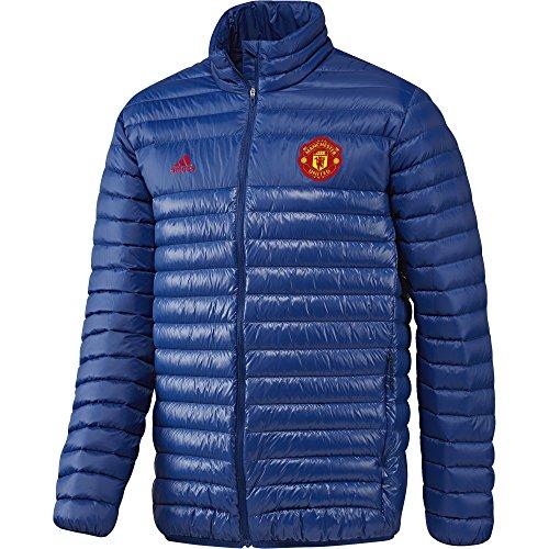 Adidas MUFC LT JK–Jacke der Line Manchester United FC für Herren, Farbe Blau/Rot, Größe S Azul / Rojo (Reauni / Reauni / Rojrea)