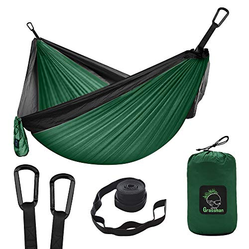 x 59 L Parachute Fabric Camping Hammock Portable Nylon Hammock for Backpacking Camping Travel Double Single Hammocks for Camping 110 W HoLiv Camping Hammock with Net Mosquito