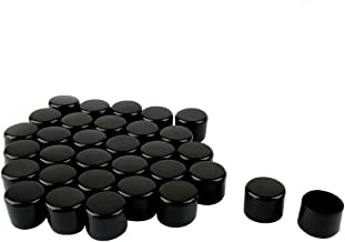 "uxcell PVC Leg Cap Tip Cups Feet Covers 25mm 1"" Inner Dia 32pcs Hardwood Floor Protector for Furniture Chairs Desks"