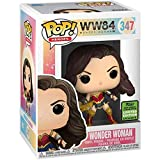 Funko Pop Heroes - Wonder Woman 1984 Figure Spring Convention #347 Derivatives ,Multicolor for Boy...