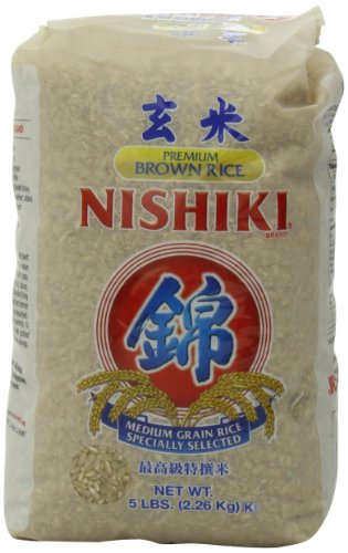 NISHIKI Premium brauner Reis, 2,3 kg