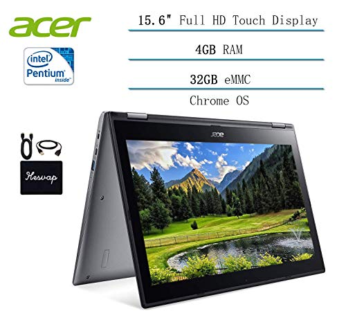 Compare Acer Chromebook Spin 15.6 (Hesvap) vs other laptops