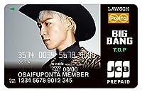 BIGBANG おさいふ ポンタカード (T.O.P TOP トップ タプ)