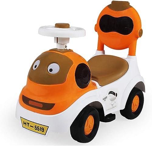 Unbekannt Kinderwagen Kinder drehen Auto Kinder vierr igen Spielzeugauto mit Musik Twist Auto (Farbe   A)