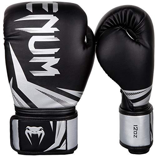 【VENUM】 ボクシンググローブ Challenger 3.0 チャレンジャー (黒/シルバー) Boxing Glove - 12oz