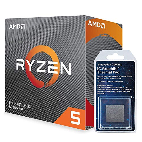 Special Bundle - AMD 100-100000031BOX Ryzen 5 3600 6-Core, 12-Thread Unlocked Desktop Processor with...