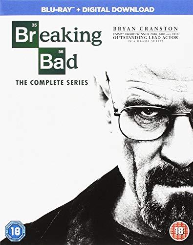 Breaking Bad - Season 01 / Breaking Bad - Season 02 / Breaking Bad - Season 03 / Breaking Bad - Season 04 / Breaking Bad - Season 05 / Breaking Bad - Final Season - Set [Blu-ray] [Import italien]
