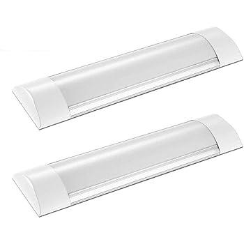 Flushmount Linear Led Ceiling Light 10w 1 Foot Led Tube Light Fixture Led Strip Light For Under Cabinet Light Ceiling Light And Shop Light Not Plug Amazon Com