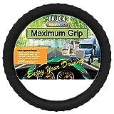 Silicone Semi-Truck Steering Wheel Cover Fits 16' 17' 18' 19' Steering Maximum Grip