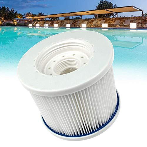 CLIUS Piscine/Spa Filtres, Pool-Cartridges, Nettoyage Facile Hot Tube Filtre pour Piscine Et Spas Ect - Blanc, Free Size