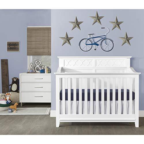Sweetpea Baby Fairview II 4 in 1 Convertible Crib