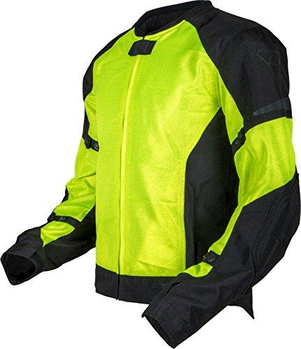 Pilot Motosport men's Slate Air Mesh Motorcycle Jacket,...