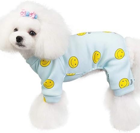 HAOHUI Mono para Perros Ropa para Cachorros Pijamas De ...