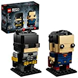 LEGO BrickHeadz Tactical Batman & Superman 41610 Building Kit (209 Piece), Multi