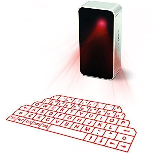 Virtual Keyboard, Laser Projection Bluetooth Wireless Keyboard for iPad iPhone 7 Samsung Galaxy S6 S7 Edge
