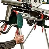 Metabo Untergestell für Kappsäge KSU 251 (Leichter Maschinenständer bis 250 Kilogramm, Länge bis 250 Zentimeter, Längenverstellbar und Höhenverstellbar) 629005000 - 5