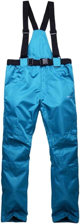 XQS Women's Active Thicken Outdoor Waterproof Softshell Fleece Snow Pants