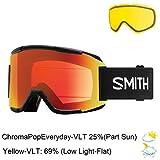 Smith Optics Adult Squad Snow Goggles,Whiteout Frame/ChromaPop Sun...
