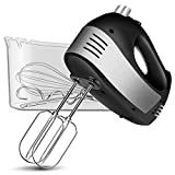 Hand Mixer Electric, Cusinaid 5-Speed Hand Mixer with Turbo Handheld...