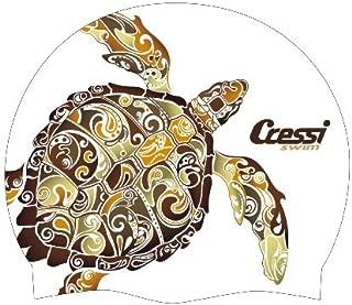 Cressi Adult Comfortable Swim Cap made in Pure Silicone