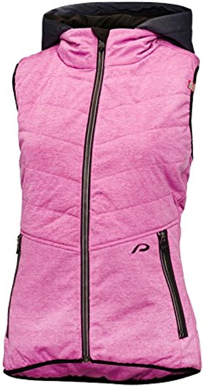 Predective Damen Hybrid Vest Women Kapok Outdoor Weste Waistcoat, Mauve, 40