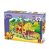 King International Winnie The Pooh & Friends Jigsaw Puzzle - 24 Pieces (Gardening Fun)