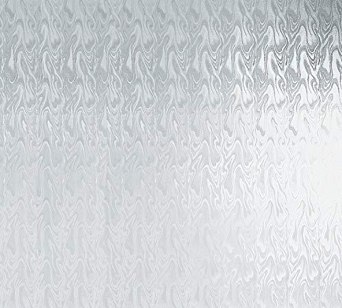 Plakt raamfolie Smoke zelfklevende folie kleeffolie melkglasfolie 800 x 45 cm | XXL rol 8 m