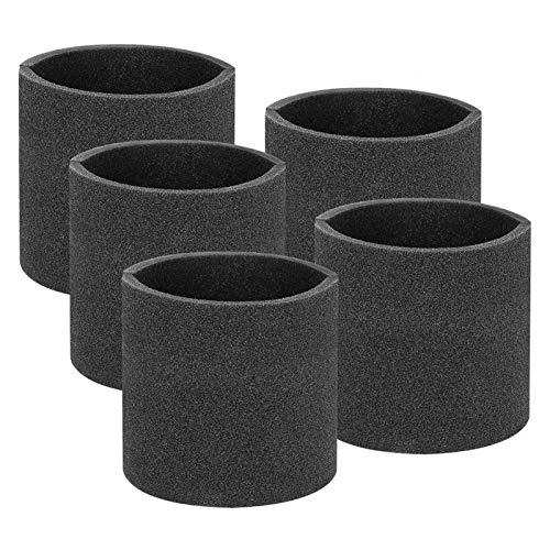 beeyuk Filtros para filtros de Espuma ShopVac Vacuum Cubierta de Espuma Lavable con Agua Que Ahorra costos para ShopVac Vacuum Excitement