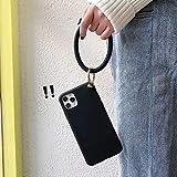 LIUYAWEI Coque de téléphone Souple en Silicone pour Poignet pour iPhone 12 11 Pro X XS Max XR Se...
