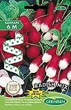 Germisem Radish Mix Semillas de Rábano en Cinta de 6 m, EC9063