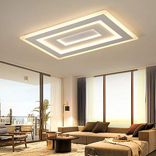 Plafondlampen, licht van schijnwerper, moderne hanglampen, voor levendige werkkamer, slaapkamer, 500 x 500 m, Tsjechische Republiek, koud wit