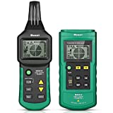 Seesii MS6818 Wire Tracker,Circuit Breaker Finder,Underground Cable Wire Locator, Portable Telephone Cable Locator 12V-400V AC/DC Pipe Detector Cable Toner Finder