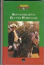 SOUVENIRS D'UN ECUYER PORTUGAIS de Nuno Oliveira