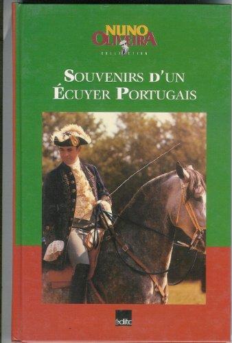 SOUVENIRS D'UN ECUYER PORTUGAIS