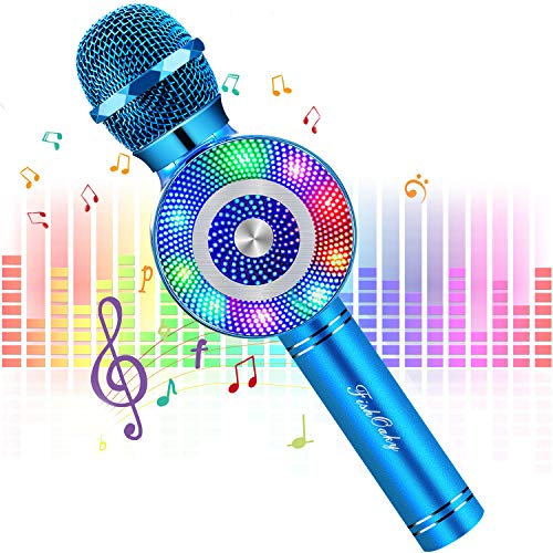 FishOaky Wireless Karaoke Microphone