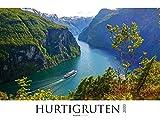 Hurtigruten 2020 - Norwegen - Bildkalender XXL (64 x 48) - Landschaftskalender - Postschiffe - Naturkalender - Wandkalender - ALPHA EDITION